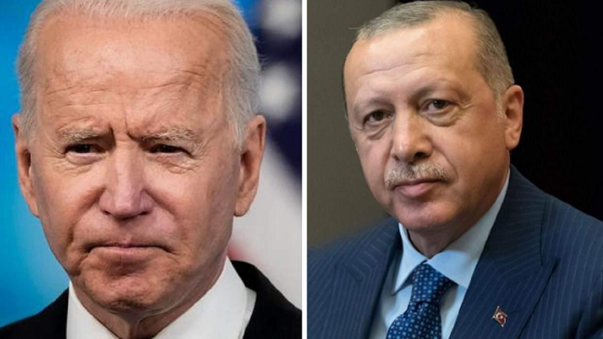 Байден та Ердоган не дійшли згоди щодо російських С-400
