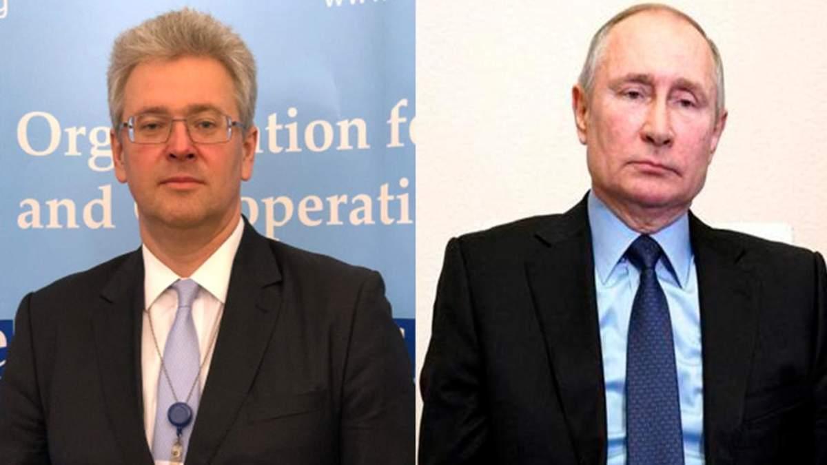 Украина резко ответила Путину на слова об одном народе