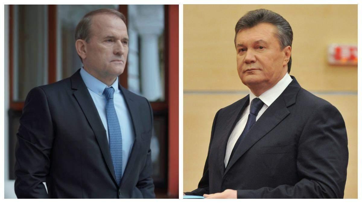 Під час Революції Гідності Медведчук дзвонив Януковичу 54 рази