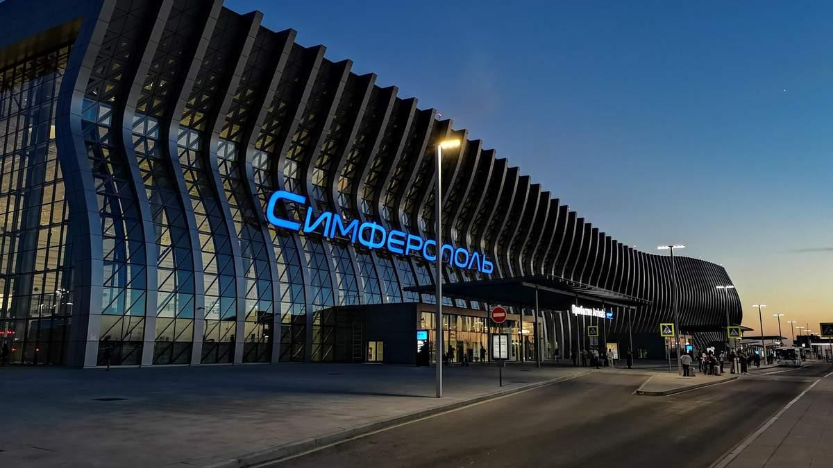 В оккупированном Крыму снова не смог приземлиться самолет