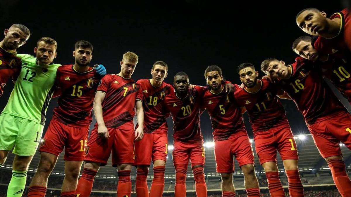 Бельгия на Евро-2020