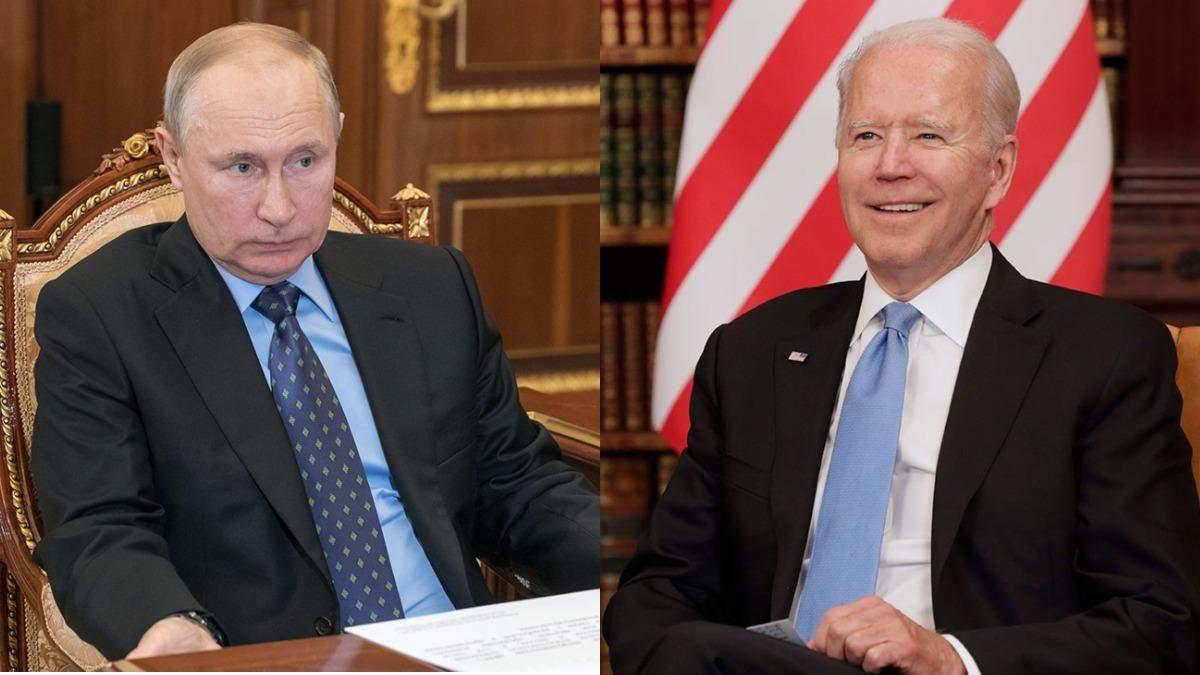 Путін і Байден не досягли згоди на саміті в Женеві