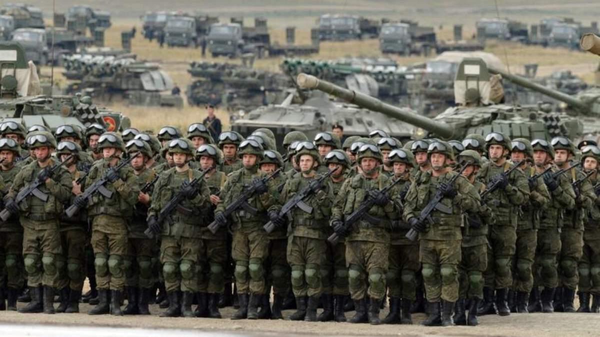 Разведка о русских войсках у границы Украины: последние данные