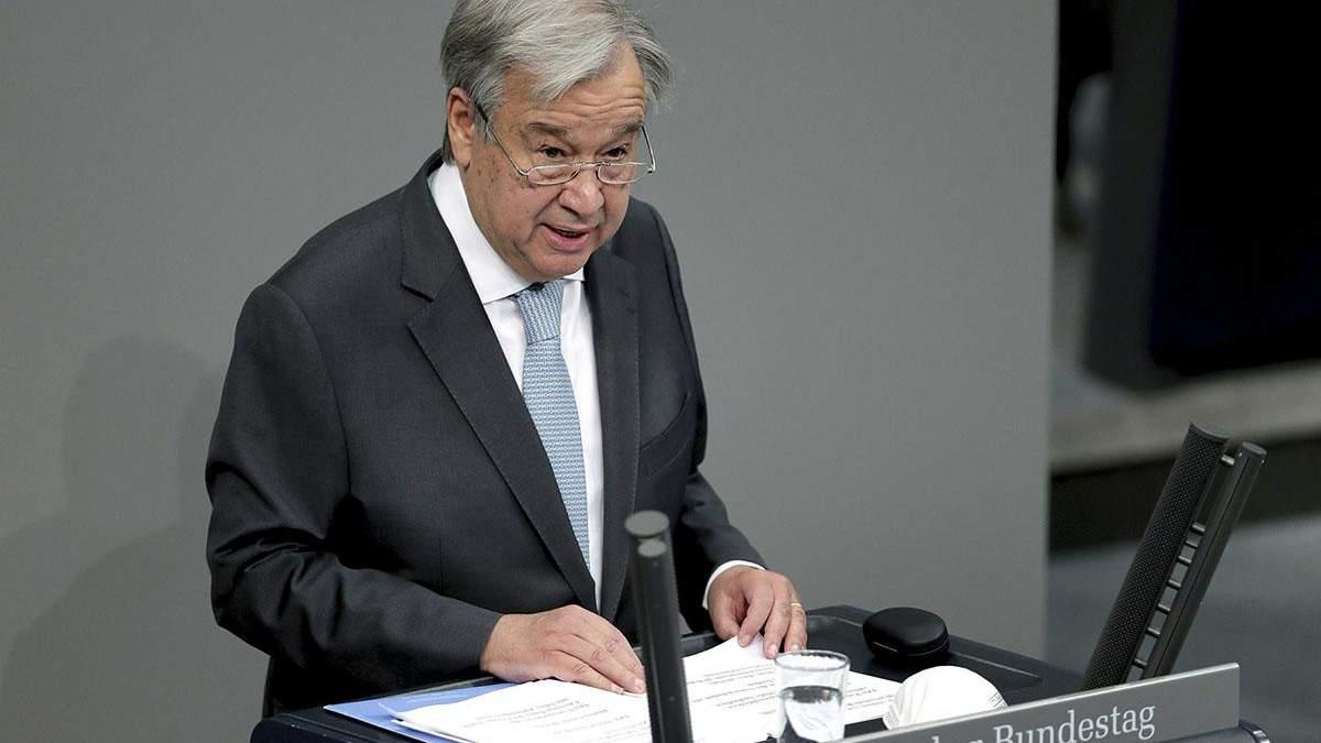 Держдеп привітав призначення Гуттереша на другий строк на чолі ООН