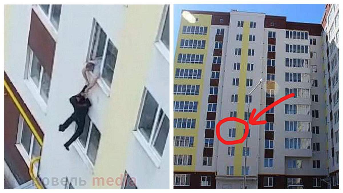 Прикинулся самоубийцей: на Волыни вор выпрыгнул с 4 этажа и убежал