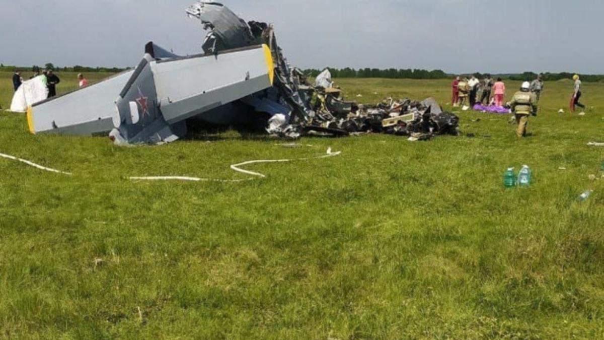 У Росії 19.06.2021 розбився літак з парашутистами: багато загиблих