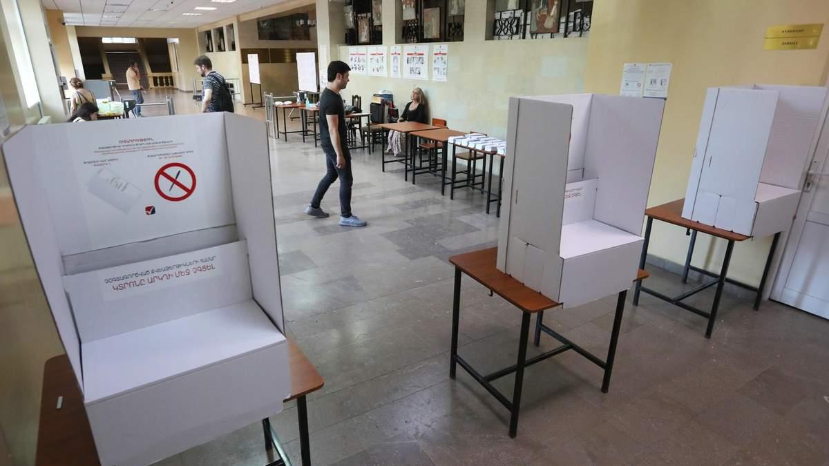 У Вірменії відбуваються позачергові вибори у парламент