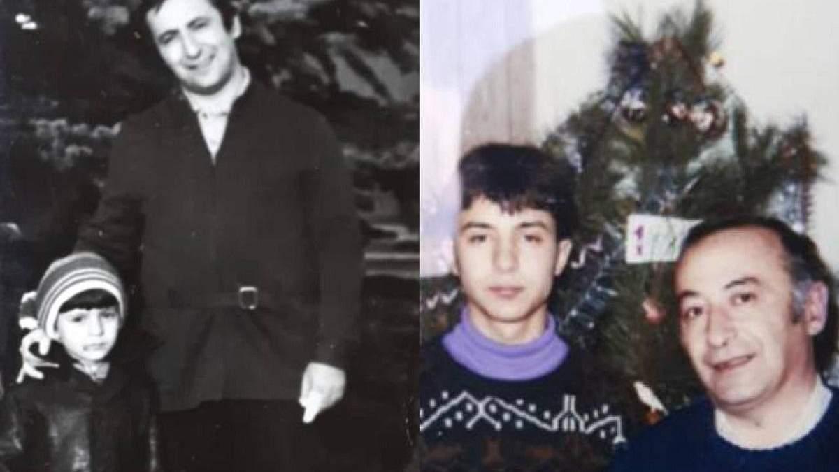 Зеленский поздравил своего отца с Днем отца