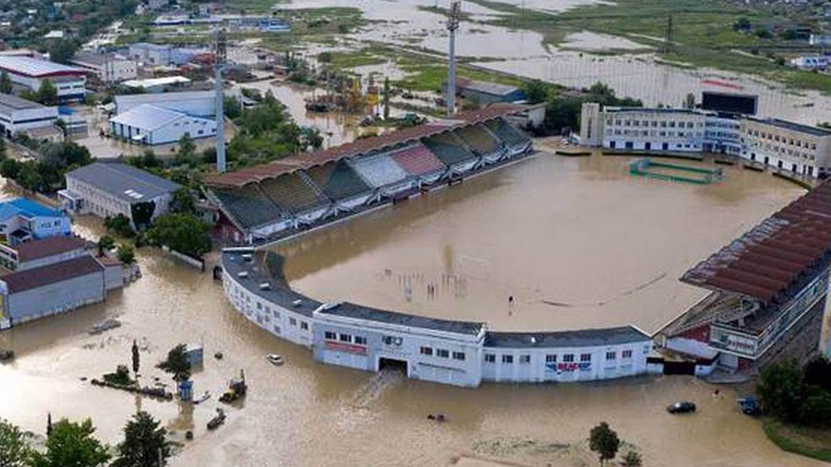 Не только Ялта: из-за мощных дождей затопило оккупированную Керчь