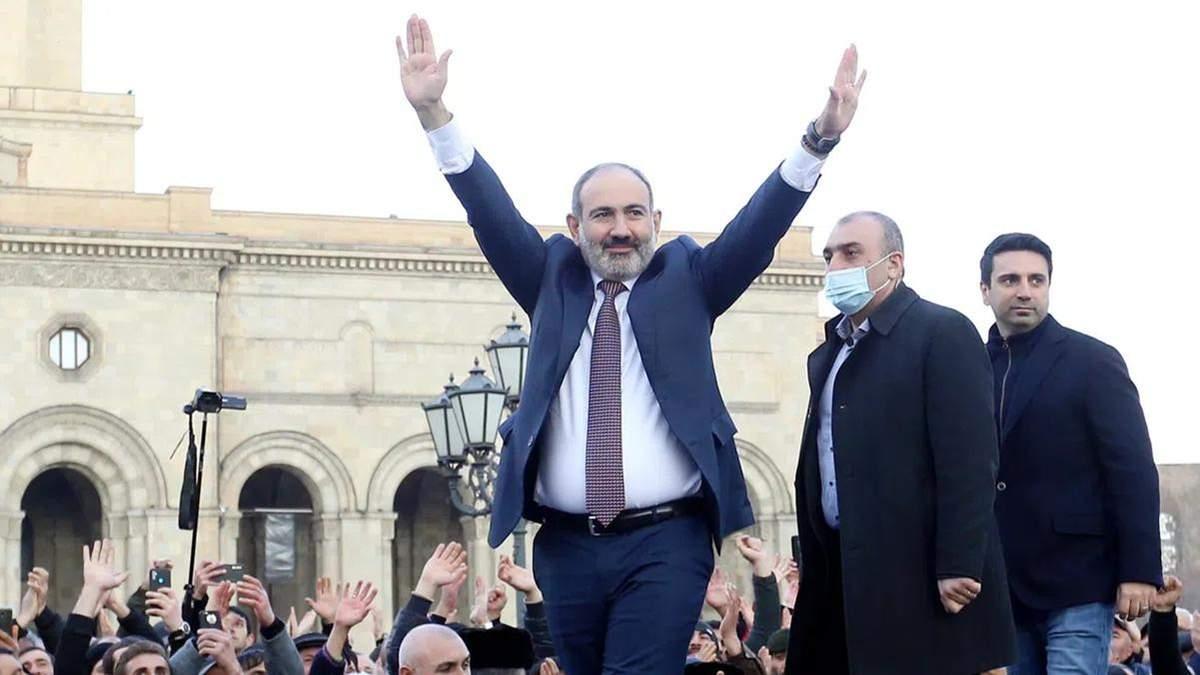Попередні результати позачергових виборів до парламенту Вірменії 2021