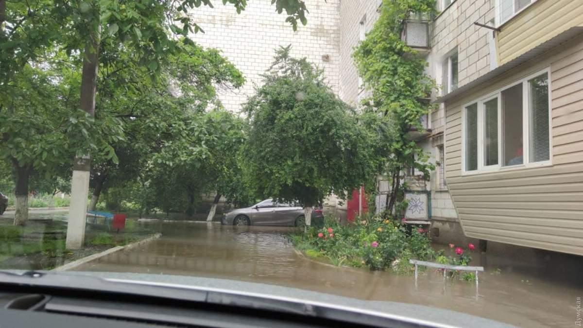 Потужна злива 20 червня 2021 затопила Ізмаїл