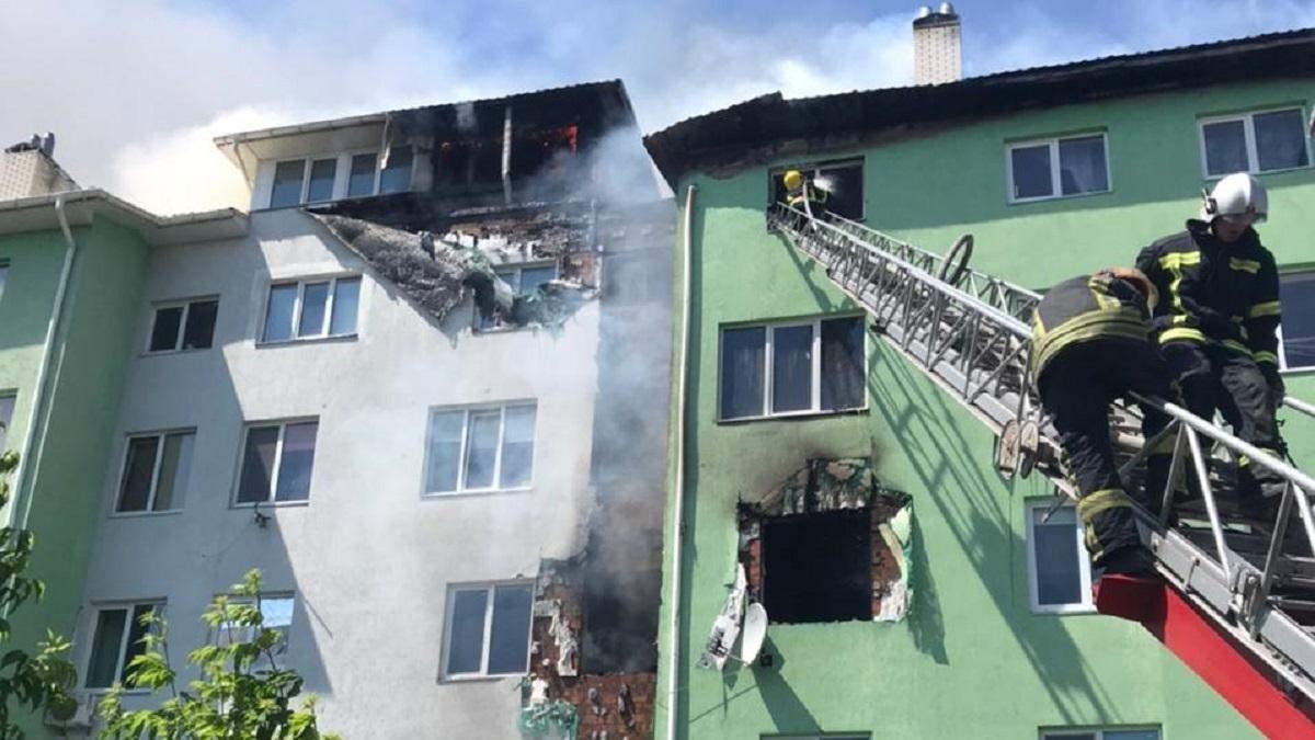 На Киевщине 21 июня 2021 пожар в жилом доме
