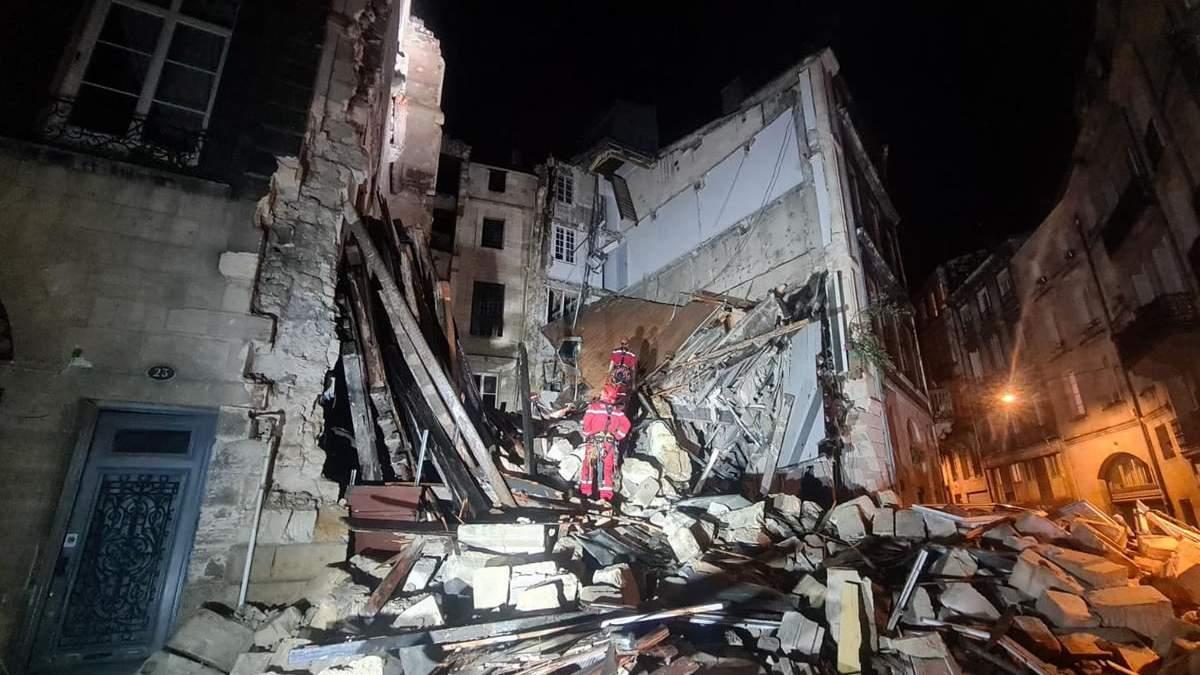 У французькому Бордо 21.06.2021 обвалилися 2 будинки