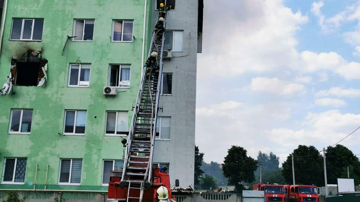 Вибух у багатоповерхівці під Києвом 21 червня 2021: де ночували люди