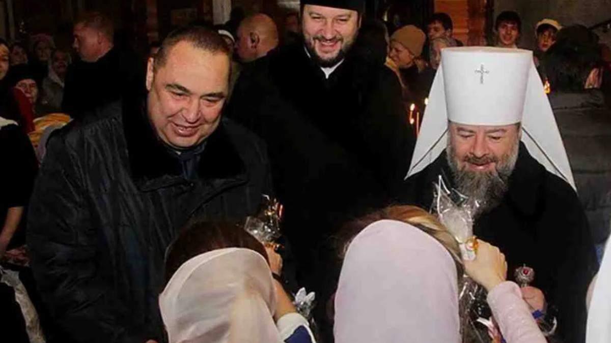 У Києво-Печерській лаврі поховали ватажка терористів з УПЦ МП