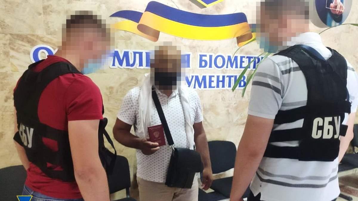 Разыскивал Интерпол СБУ задержала террориста с российским паспортом