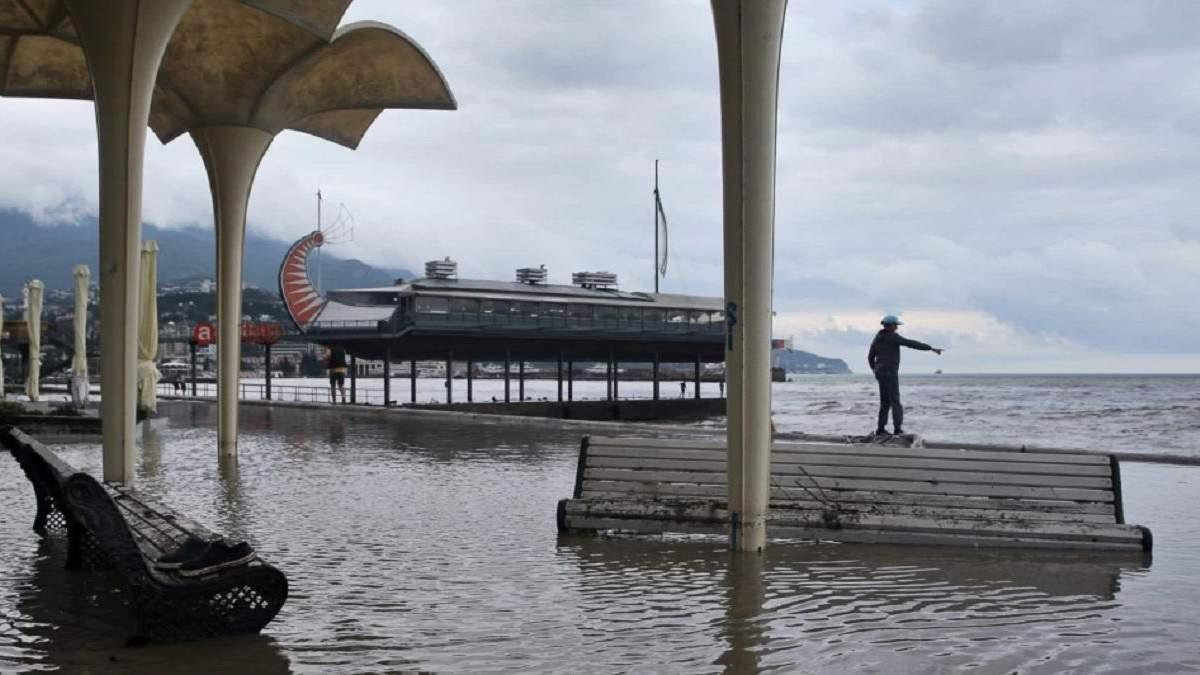 Масштабные наводнения в Крыму: оккупанты оценили размер ущерба