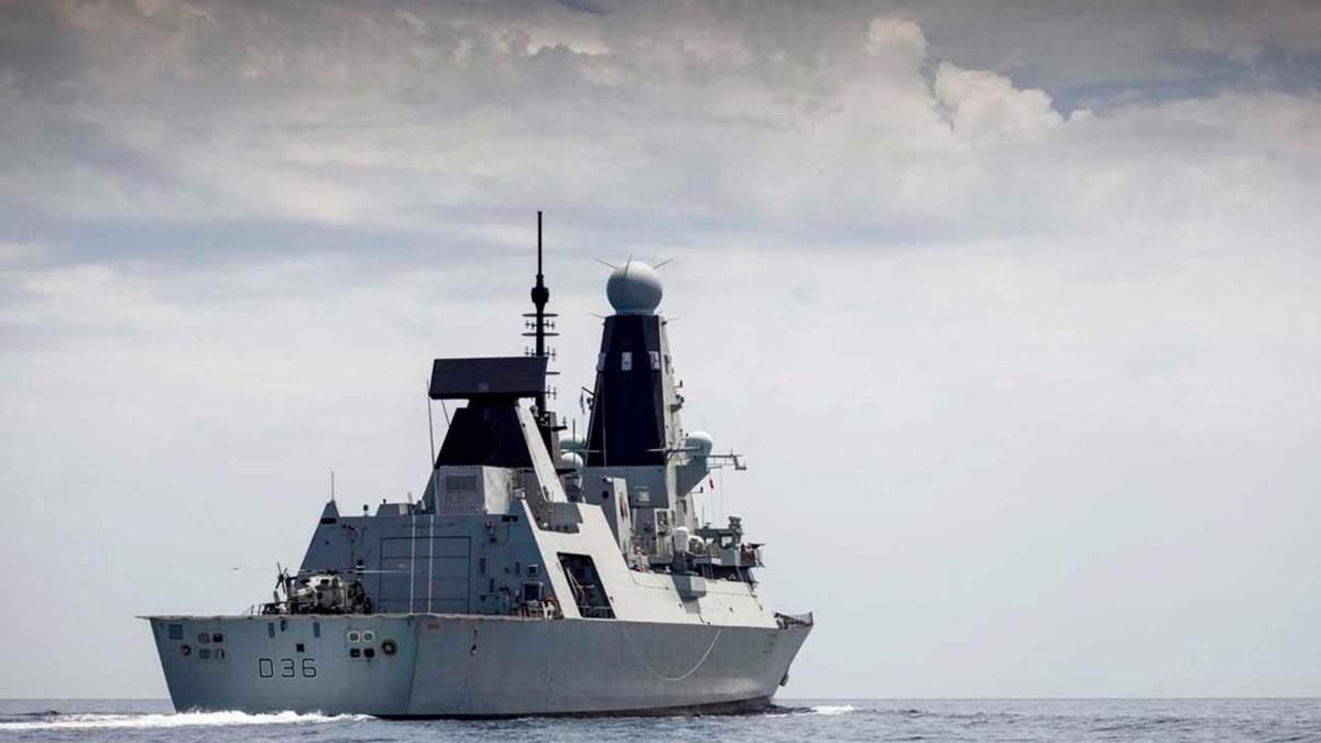 Україна відреагувала на обстріл британського есмінця біля Криму