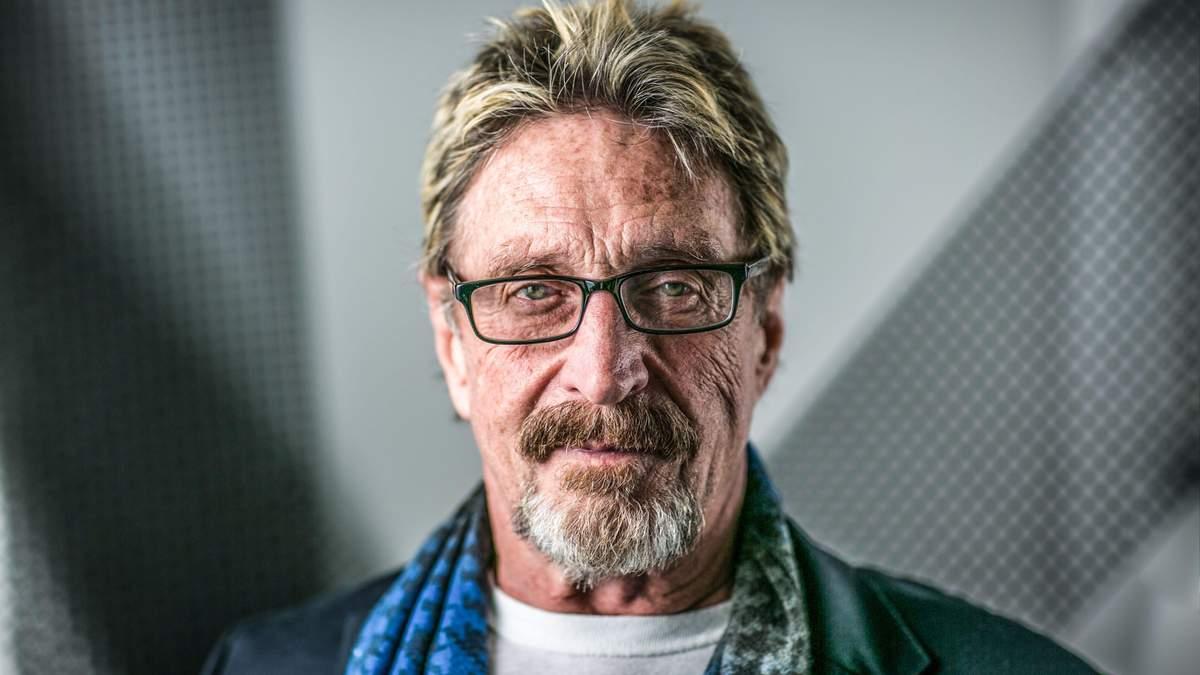 Творця антивірусу McAfee Джона Макафі знайшли мертвим у в'язниці