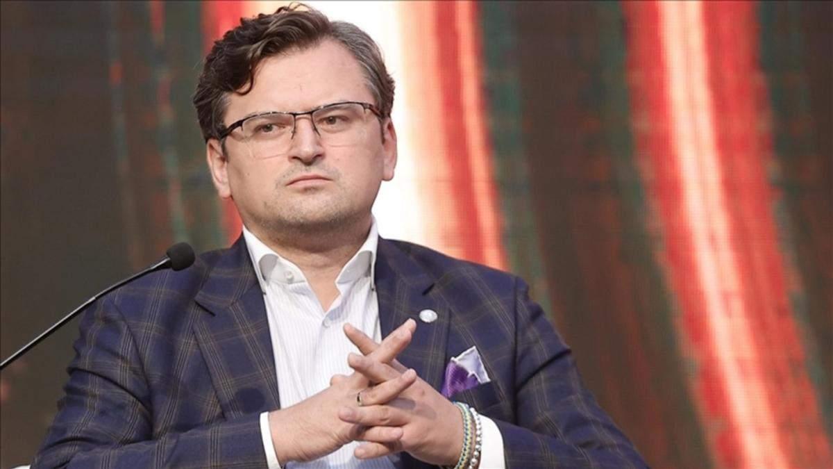 Саміт з Росією - небезпечне відхилення від політики санкцій, – Кулеба