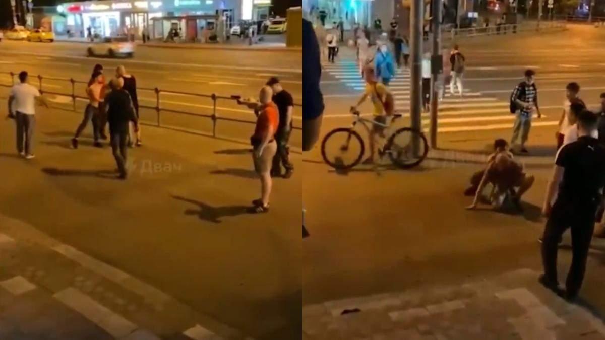 У Москві спалахнула бійка після вигуків Росія – для росіян