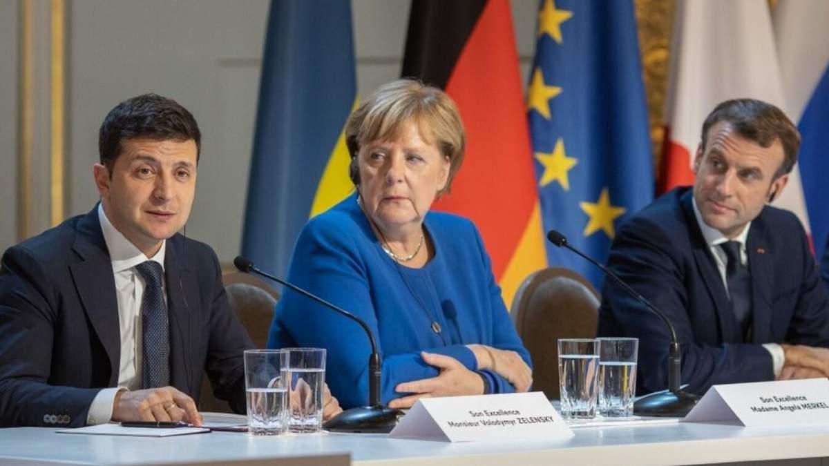 Я рівний їм президент, – Зеленський про Макрона та Меркель
