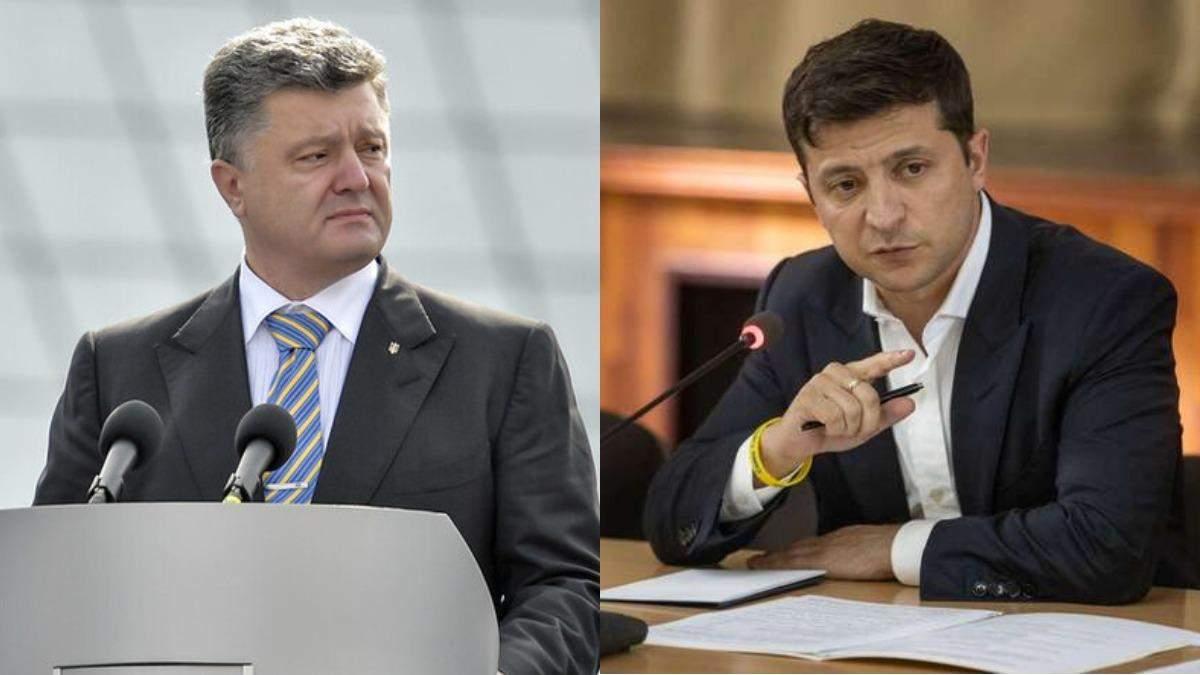 Зеленський заявив, що Порошенко йому нецікавий