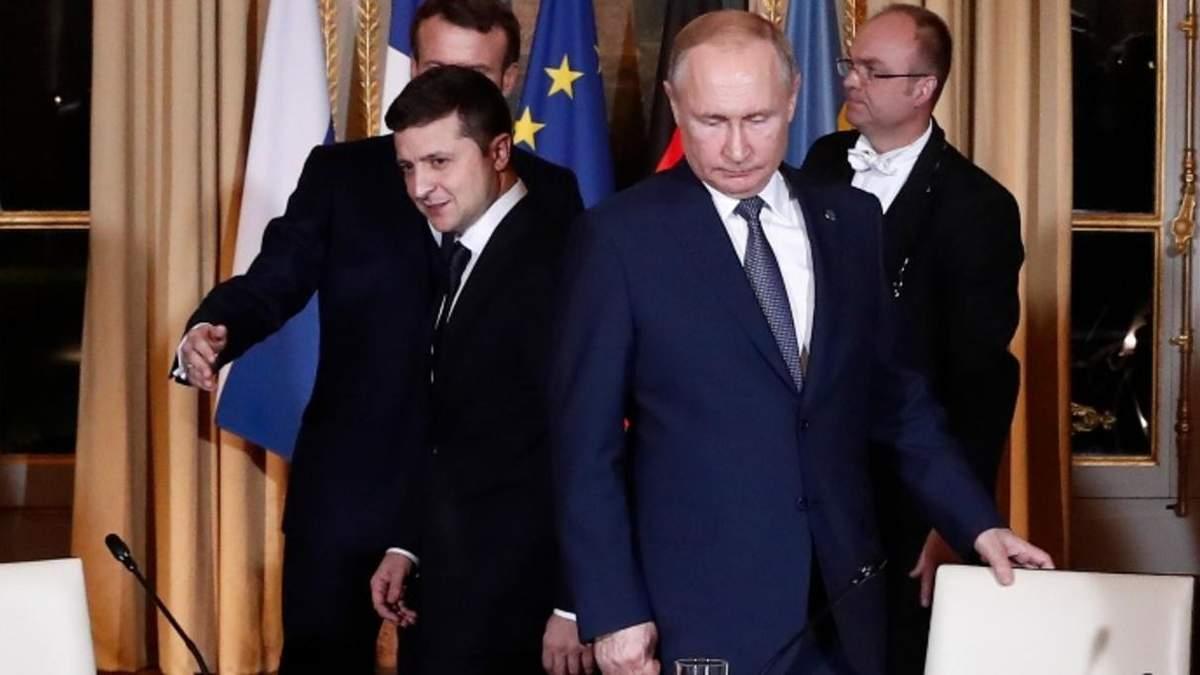Сьогодні м'яч на боці Росії, – Зеленський про зустріч з Путіним