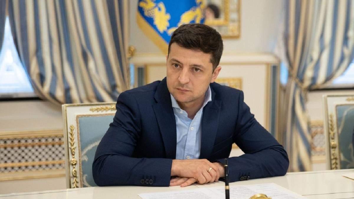 Інтерв'ю Володимира Зеленського ТСН: головні тези президента