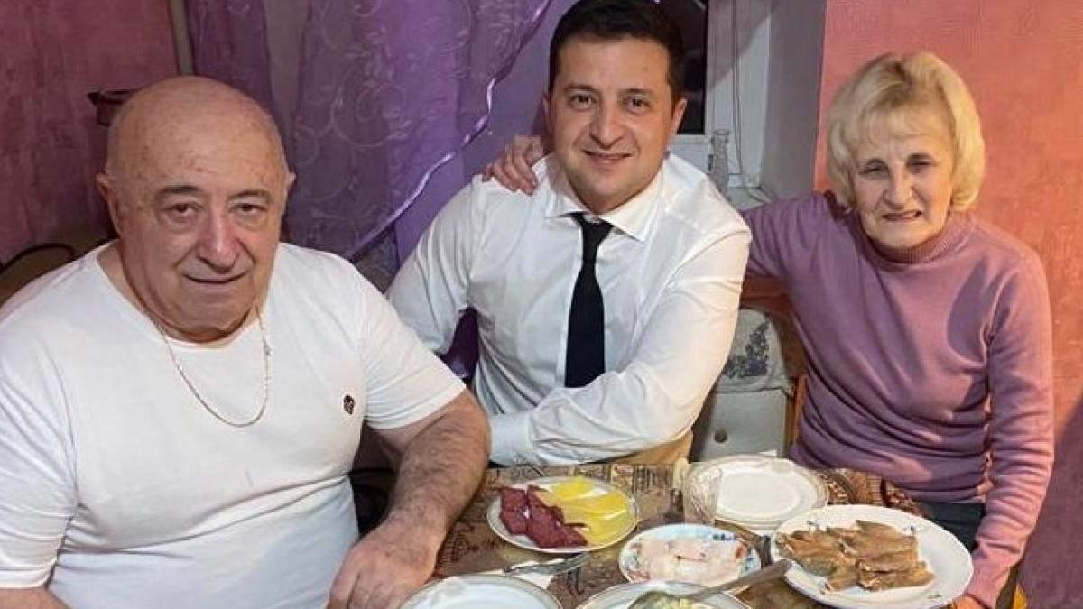 Батько Зеленського розповів, що його син постарів за час президентства