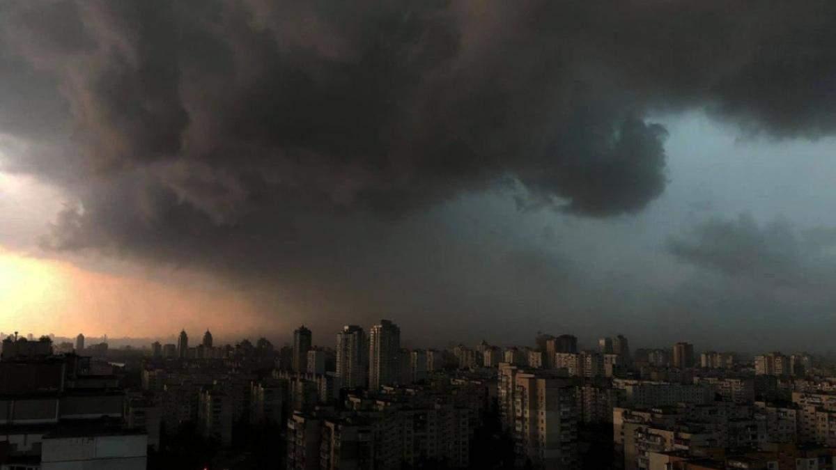 В Киеве 26.05.2021 будут грозы и град: прогноз погоды