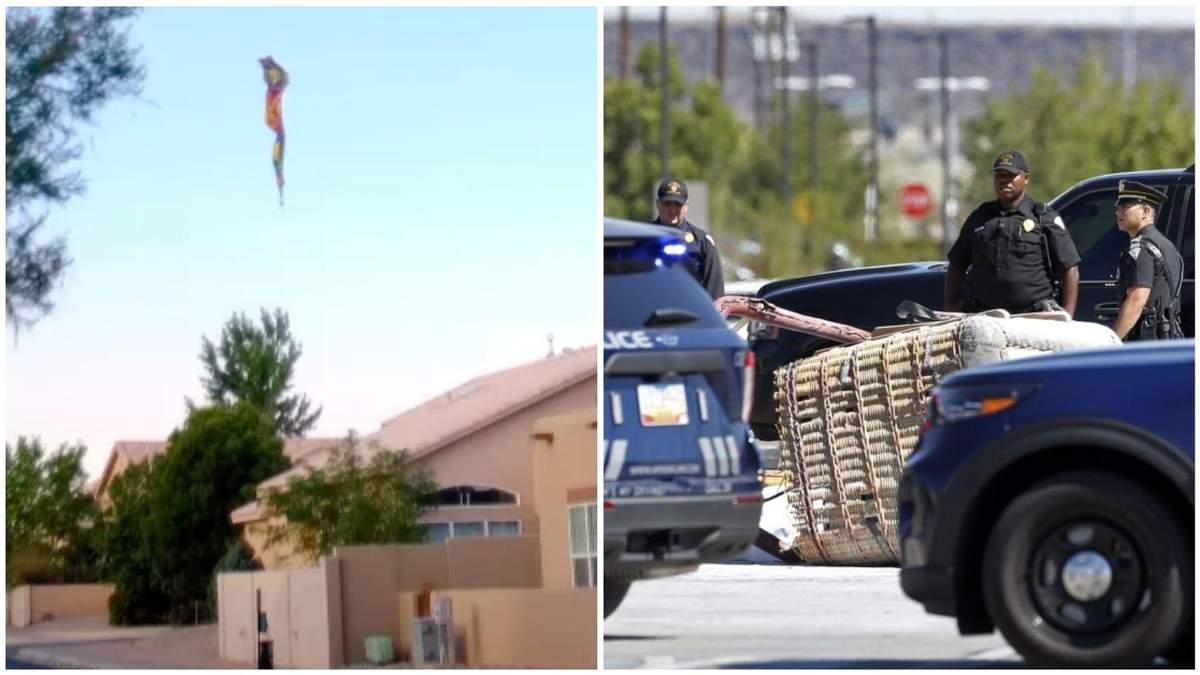 У США посеред вулиці розбилась повітряна куля: є загиблі – відео