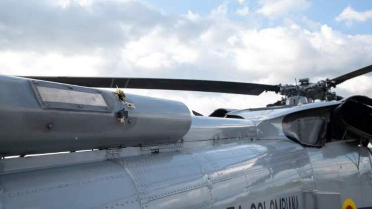 У Колумбії розслідують обстріл вертольота президента: що відомо