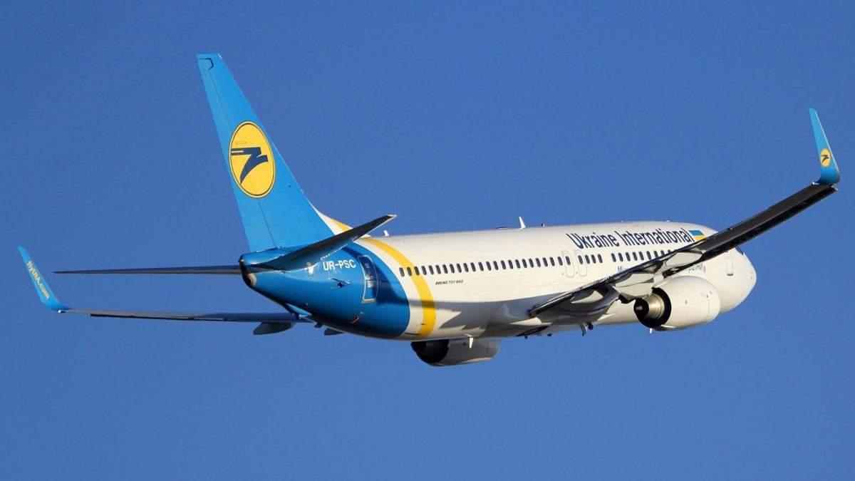 Птица застряла в двигателе: рейс МАУ завернули в харьковский аэропорт