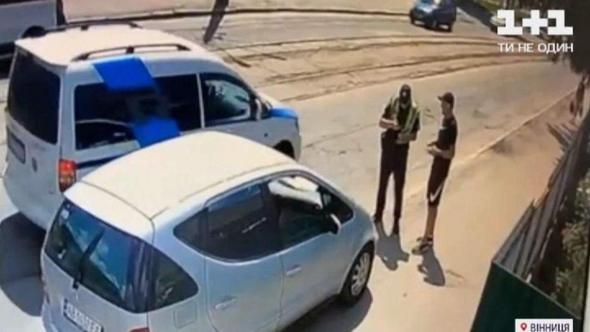 В Виннице авто сбило на пешеходном переходе семейную пару