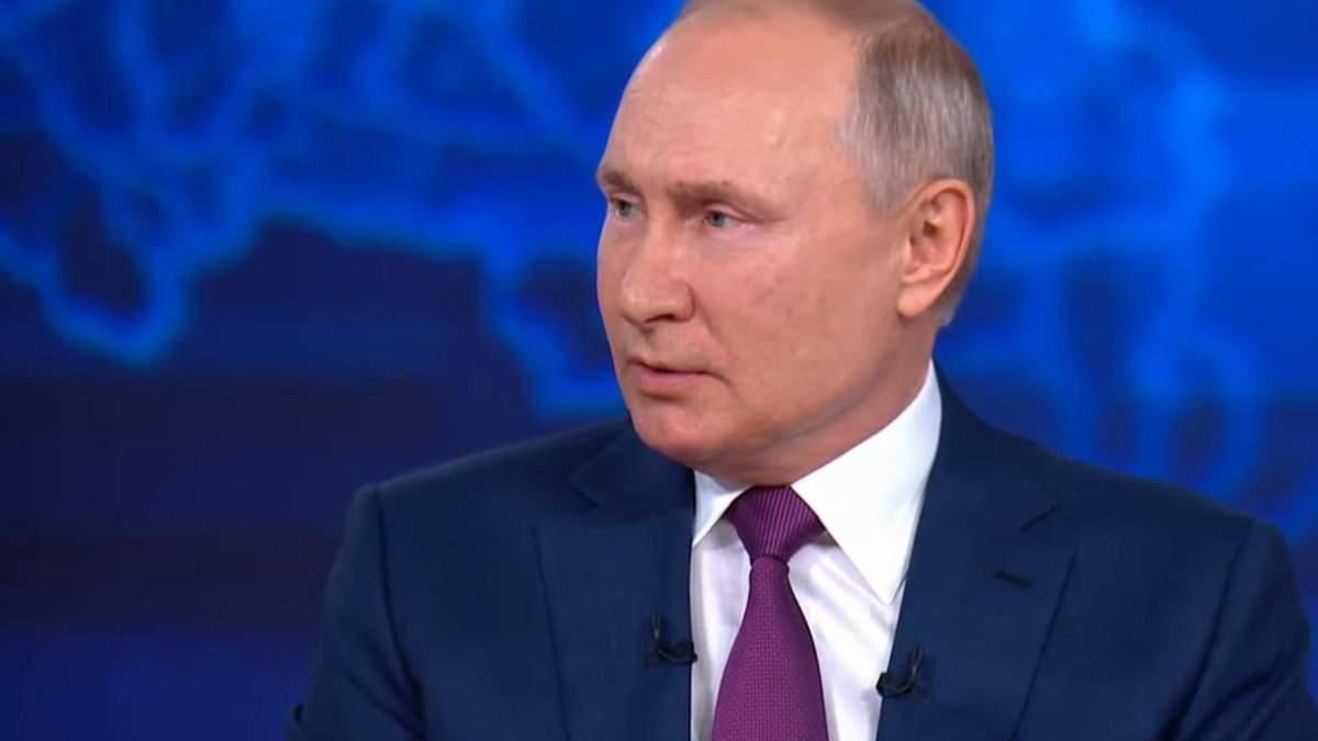 Путін про Україну: українці і росіяни – один народ