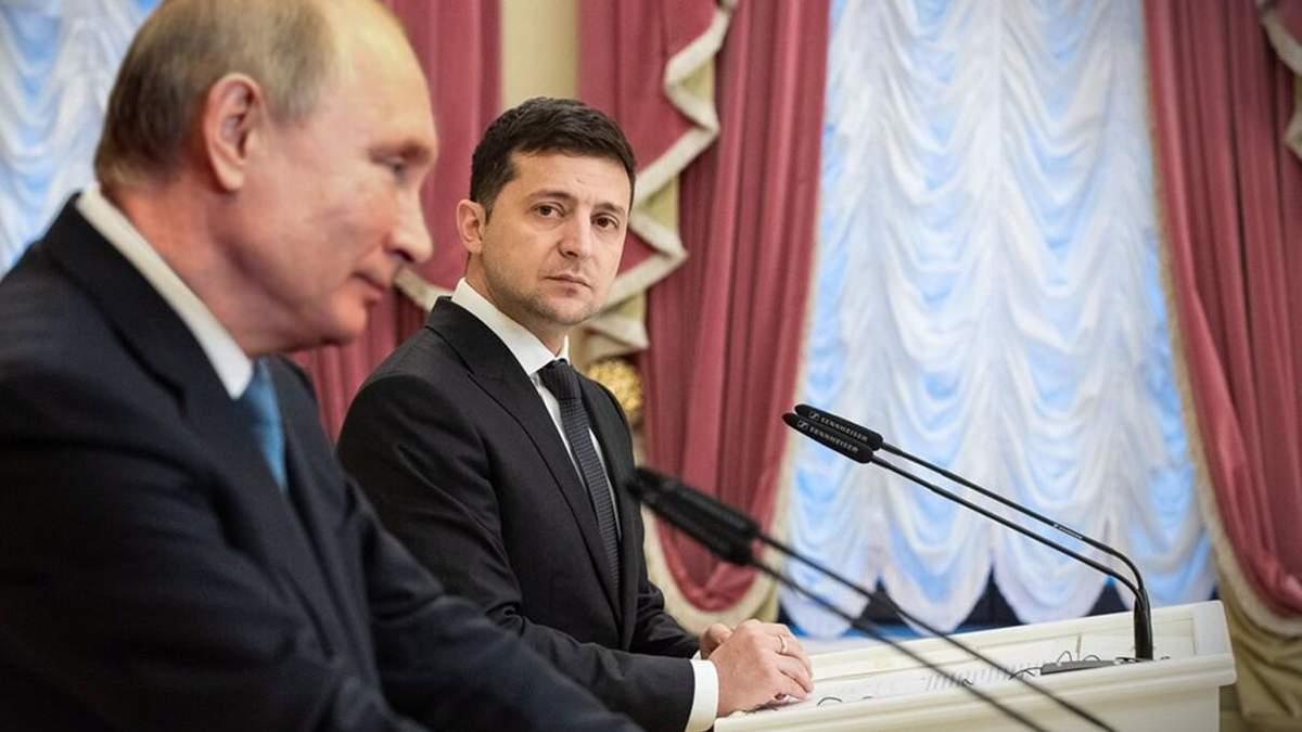 Я не отказываюсь от встречи, но зачем она, - Путин о Зеленском