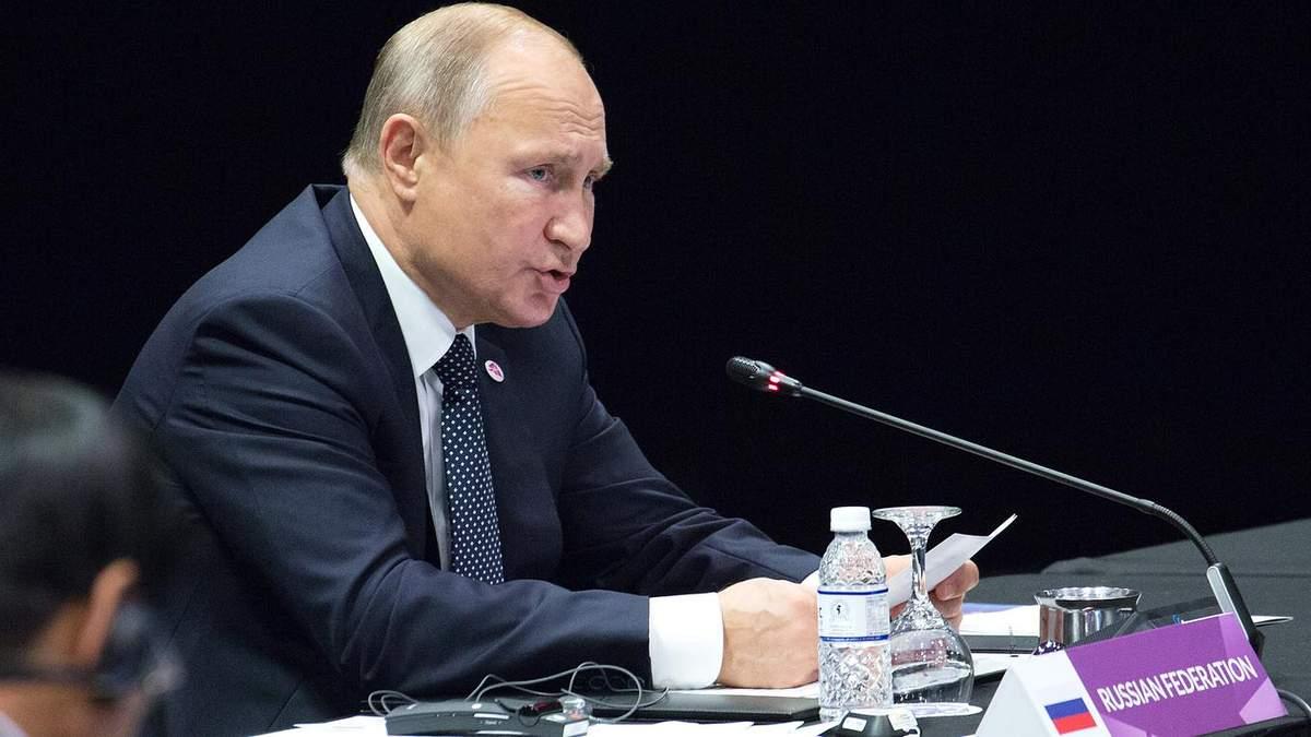 Путіна турбує військове освоєння України і присутність чужих військ