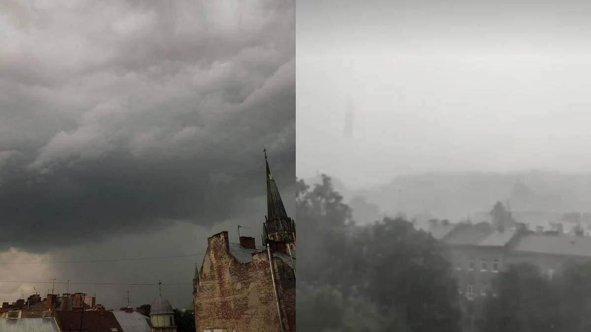Львів знову накрила потужна злива: все пливе – шокуючі відео