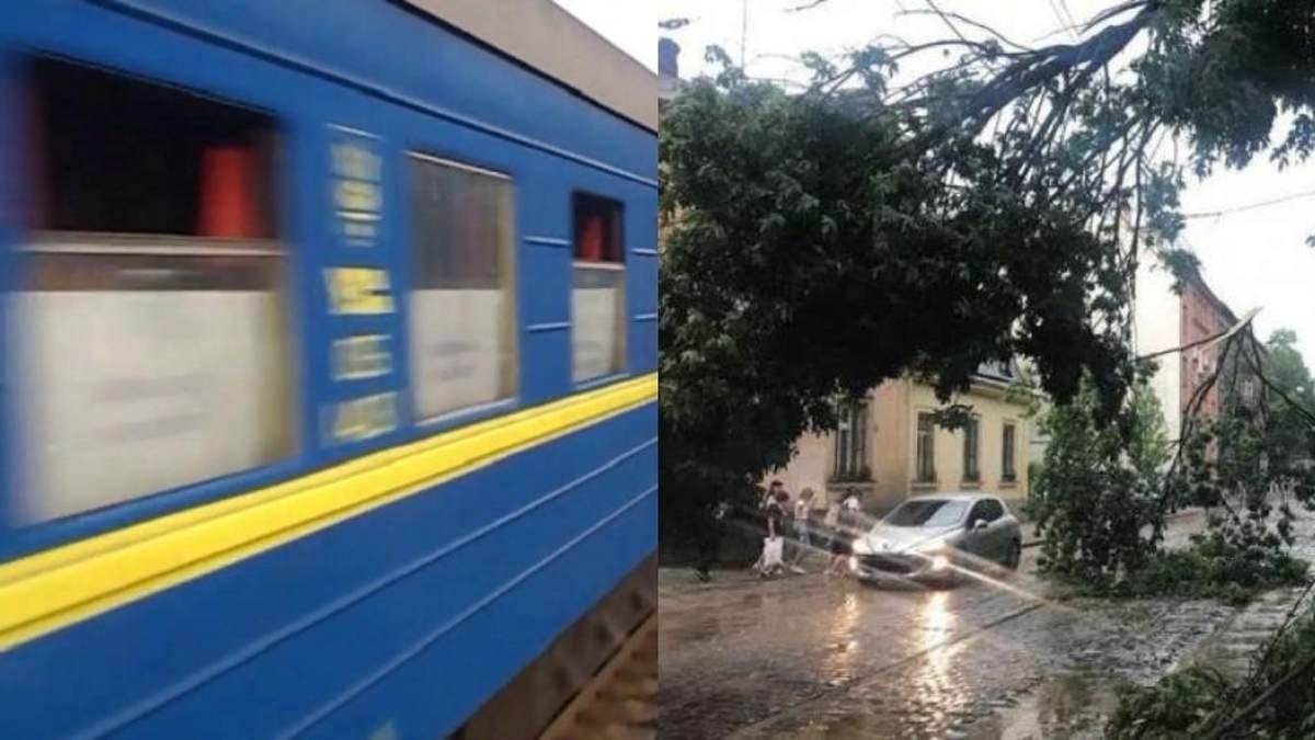Укрзалізниця повідомляє про затримку поїздів через негоду: перелік