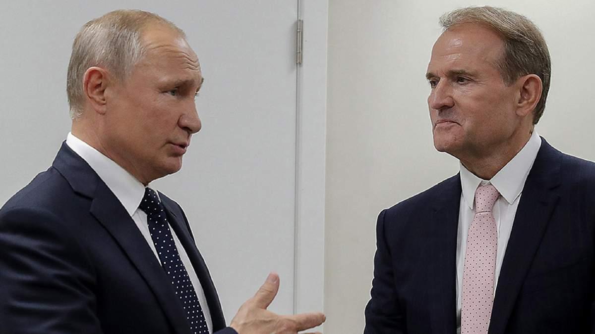 Голова путінського філіалу, – Гудков про обговорення Медведчука в Росії