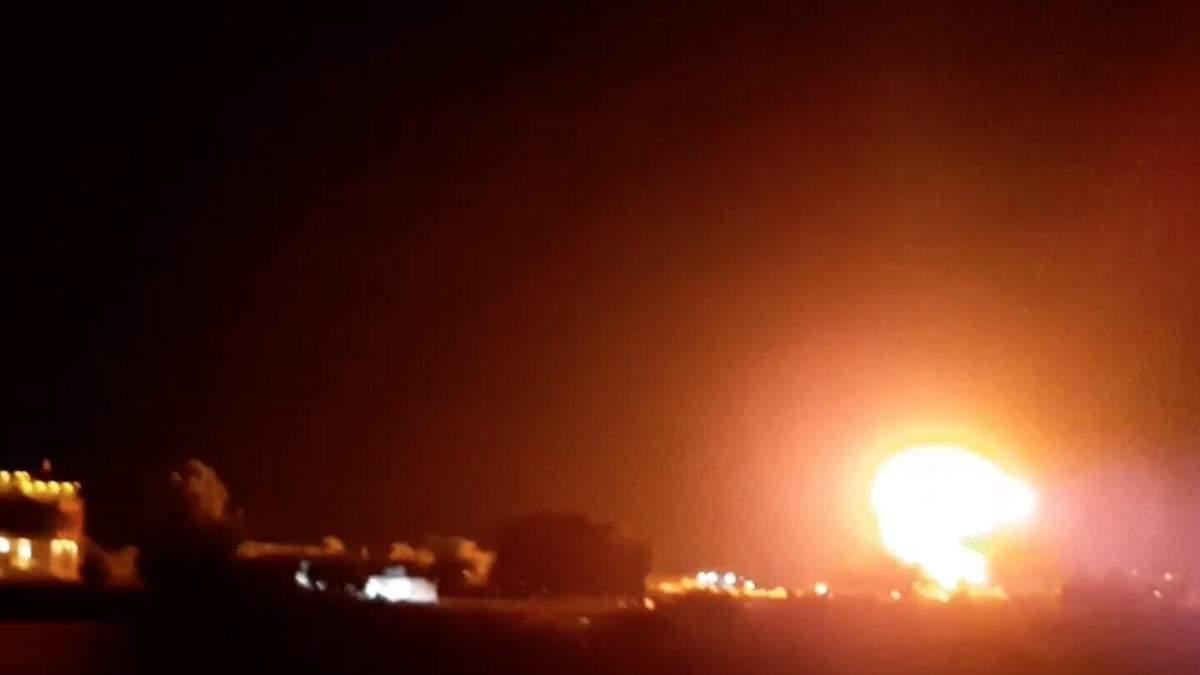 Ізраїль атакував збройний завод ХАМАС 2 липня 2021