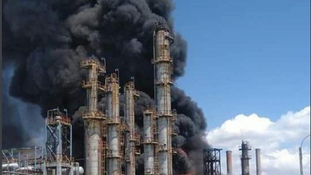 На нефтеперерабатывающем заводе Румынии взрыв 2 июля 2021: есть жертва
