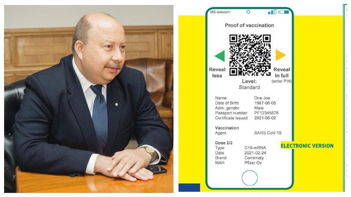 2 види COVID-паспортів, – Немчінов про перспективи поїхати за кордон