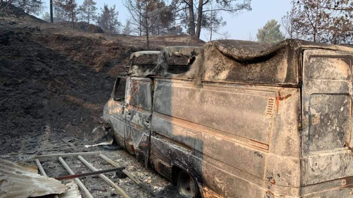 На Кипре масштабные пожары уже привели к жертвам: фото, видео
