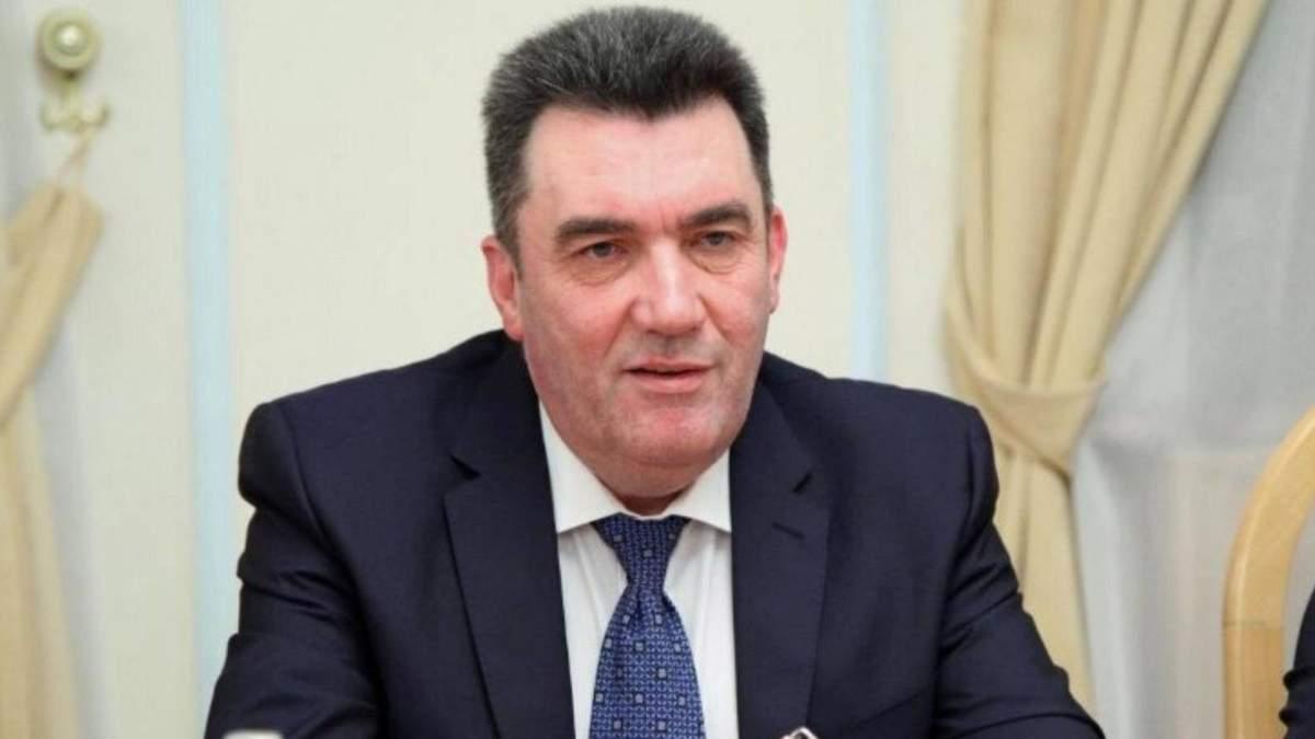 Олексій Данілов розповів про санкції проти Фукса і Фірташа