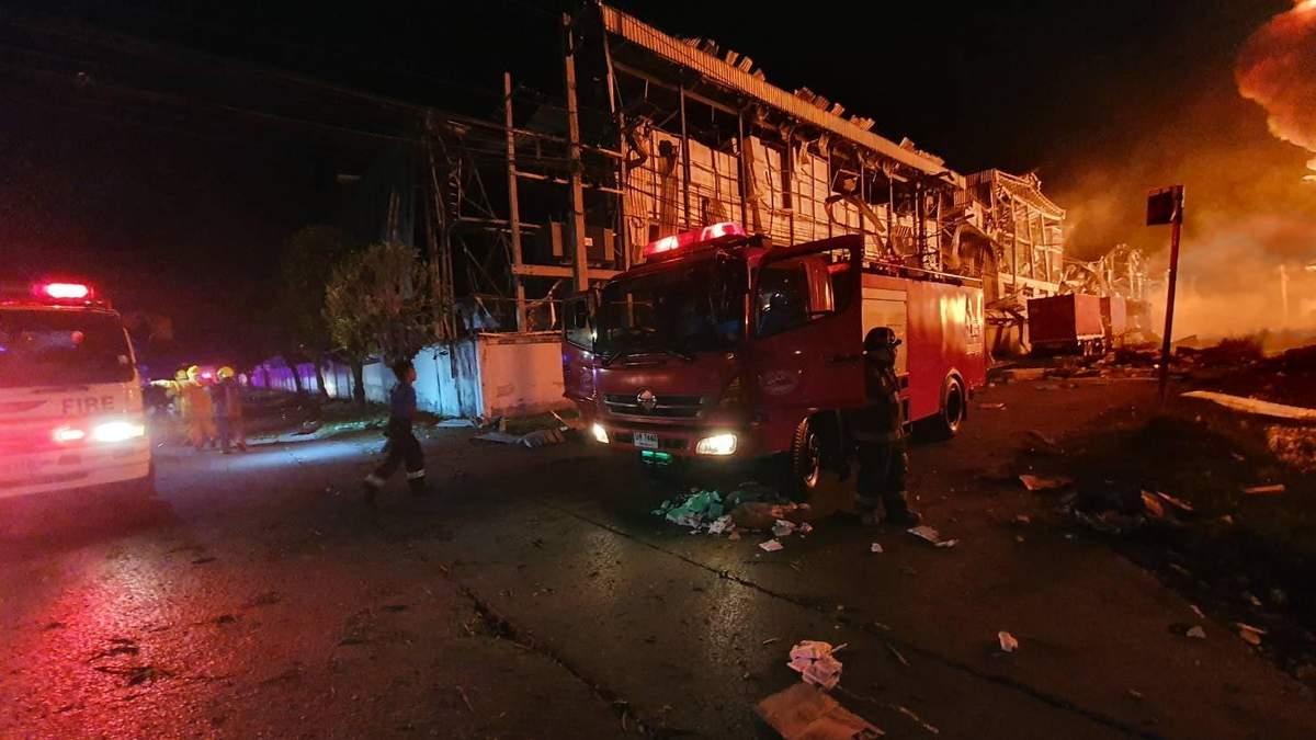 У Таїланді 5 липня 2021 прогримів вибух на хімзаводі: є поранені