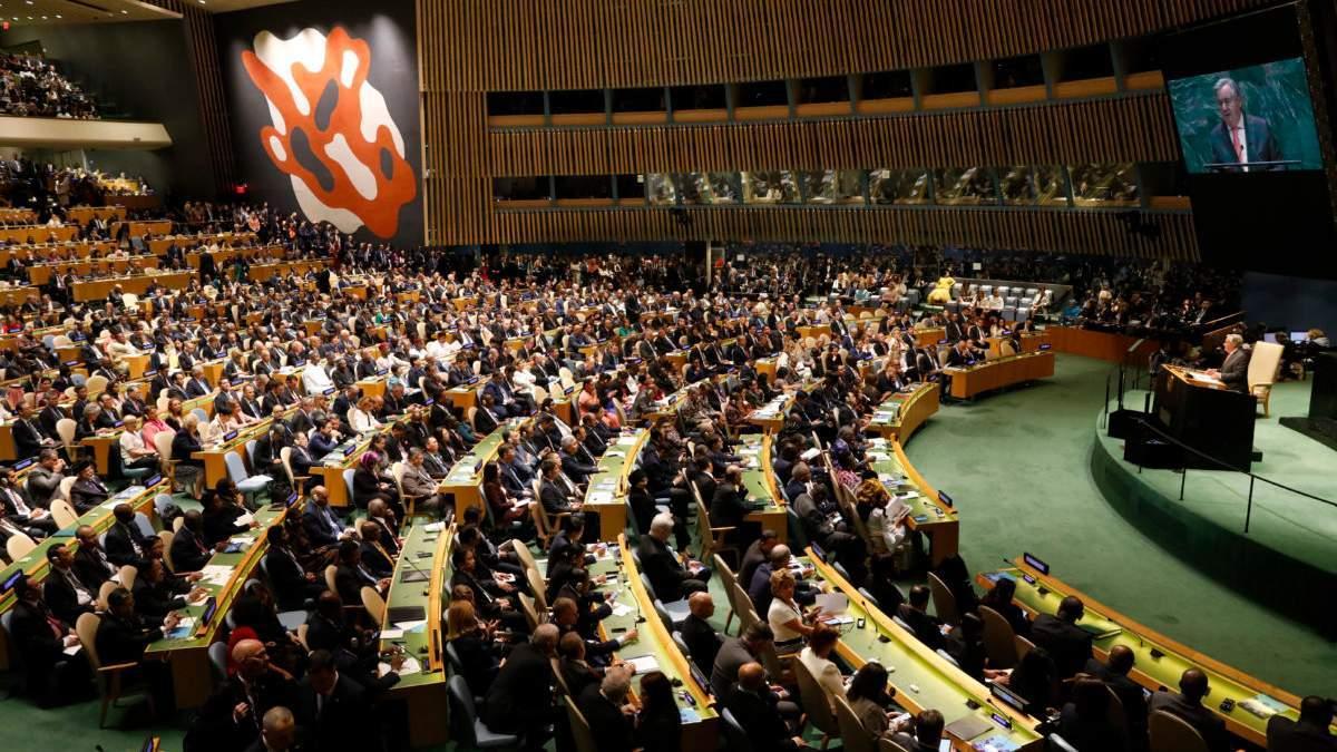Росію можуть не пустити на Генасамблею ООН