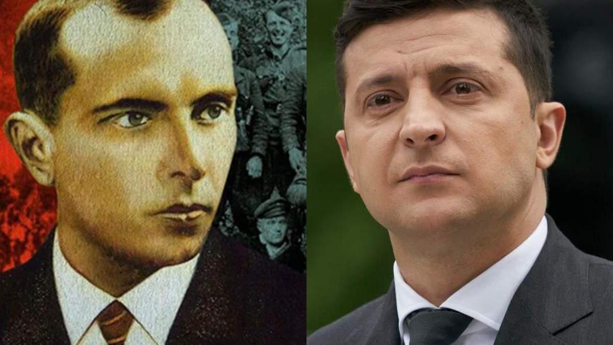 Зеленському пропонують повернути звання Героя України Бандері