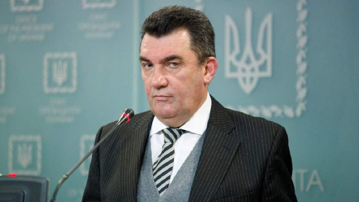 Олексій Данілов розповів про план Банкової щодо деокупації Донбасу
